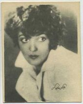 Lila Lee - 1920s Kashin Motion Pictures Star Movie Card