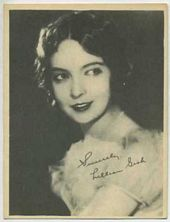 Lillian Gish - 1920s Kashin Motion Pictures Star Movie Card