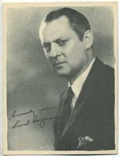 Lionel Barrymore - 1920s Kashin Motion Pictures Star Movie Card