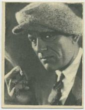 Lon Chaney - 1920s Kashin Motion Picture Stars Movie Card