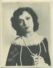 Mary Duncan - 1920s Kashin Motion Pictures Star Movie Card