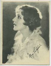 Mary Pickford - 1920s Kashin Motion Pictures Star Movie Card