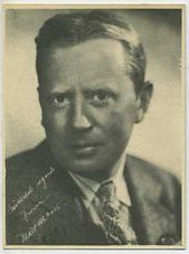 Matt Moore - 1920s Kashin Motion Pictures Star Movie Card