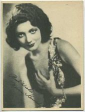Merna Kennedy - 1920s Kashin Motion Pictures Star Movie Card