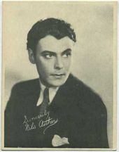 Nils Asther - 1920s Kashin Motion Picture Stars Movie Card