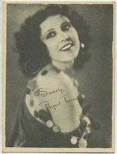 Raquel Torres - 1920s Kashin Motion Pictures Star Movie Card