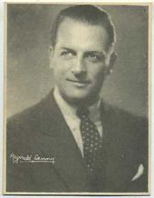 Reginald Denny - 1920s Kashin Motion Pictures Star Movie Card