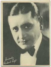 Richard Dix - 1920s Kashin Motion Picture Stars Movie Card