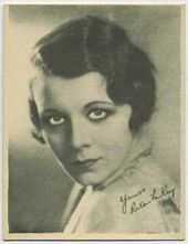 Rita LaRoy - 1920s Kashin Motion Pictures Star Movie Card