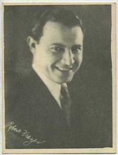 Robert Frazer - 1920s Kashin Motion Pictures Star Movie Card