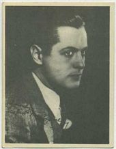 Robert Montgomery - 1920s Kashin Motion Pictures Star Movie Card