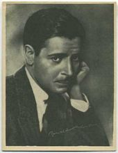 Ronald Colman - 1920s Kashin Motion Pictures Star Movie Card