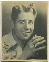 Rudy Vallee - 1920s Kashin Motion Pictures Star Movie Card