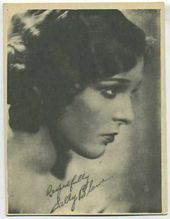 Sally Blane - 1920s Kashin Motion Pictures Star Movie Card