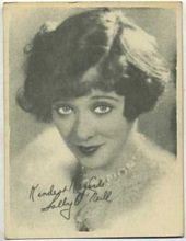 Sally ONeil - 1920s Kashin Motion Pictures Star Movie Card