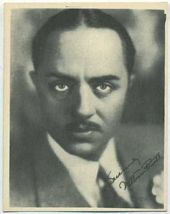 William Powell - 1920s Kashin Motion Pictures Star Movie Card