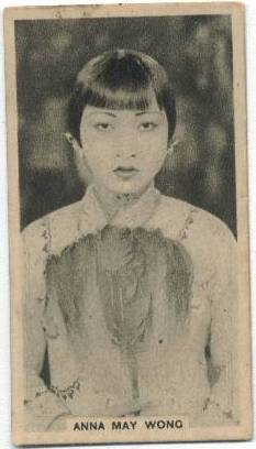 "1934 Abdulla & Co. ""Stars of the Stage and Screen"" Anna May Wong"
