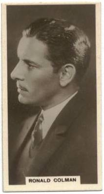 1930 J. Milhoff In the Public Eye Ronald Colman