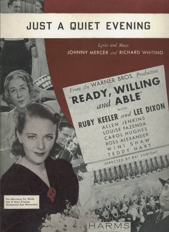 Sheet Music from Ready, Willing and Able