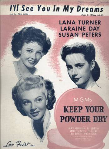 Sheet Music from Keep Your Powder Dry