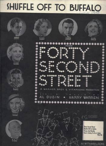 Sheet Music from Forty Second Street