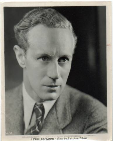 1930's Leslie Howard WB-Vitagraph Publicity Photo