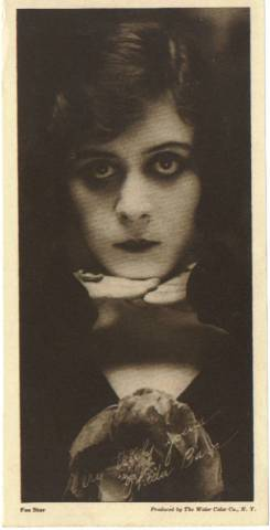 1916 Water Color Company Theda Bara Premium Photo