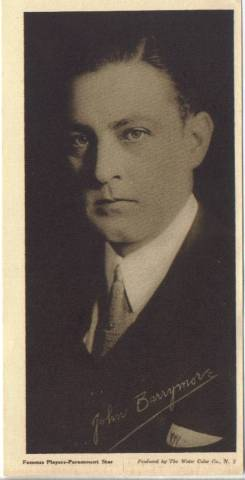 1916 Water Color Company John Barrymore Premium Photo