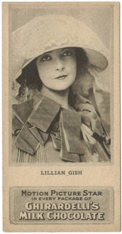 1920's Ghiradrdelli's Milk Chocolate Lillian Gish