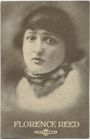 Florence Reed - 1915 Universal Actors & Actresses Post Card