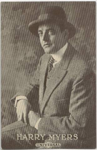 Harry Myers - 1915 Universal Actors & Actresses Post Card