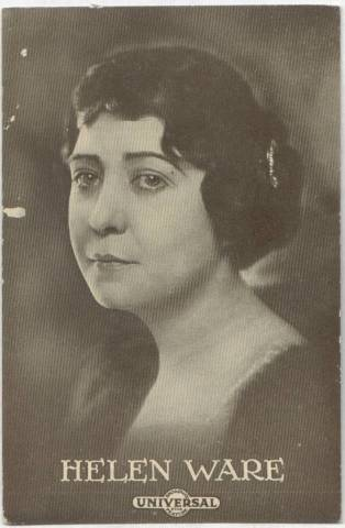 Helen Ware - 1915 Universal Actors & Actresses Post Card