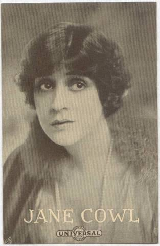 Jane Cowl - 1915 Universal Actors & Actresses Post Card