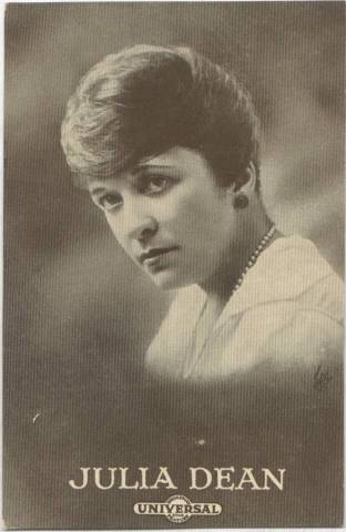 Julia Dean - 1915 Universal Actors & Actresses Post Card