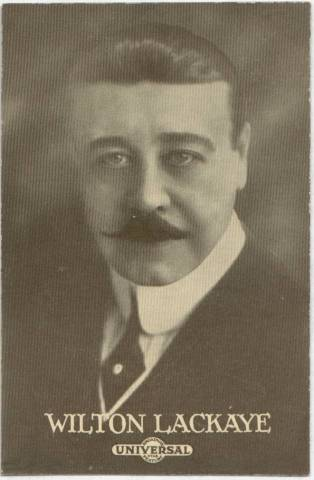 Wilton Lackaye - 1915 Universal Actors & Actresses Post Card