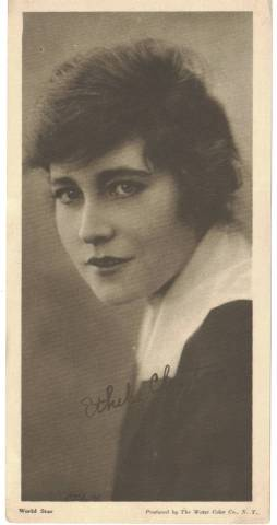1916 Water Color Company Ethel Clayton Premium Photo