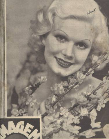 Imagem from Portugal Apr 21, 1933 JEAN HARLOW