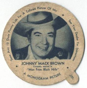 Johnny Mack Brown Dixie Lid