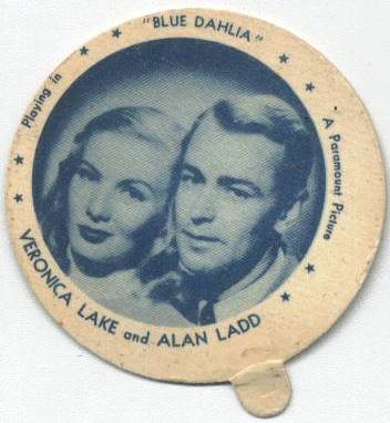 Veronica Lake & Alan Ladd Dixie Lid