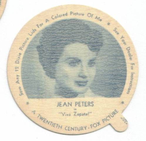 Jean Peters Dixie Lid
