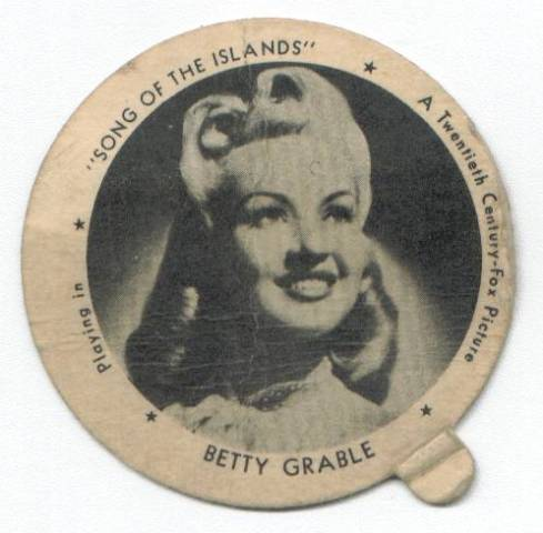 Betty Grable Dixie Lid
