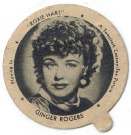 Ginger Rogers Dixie Lid