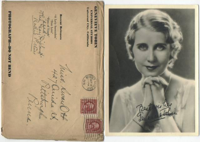 Genevieve Tobin Images 1928-1932 5x7 Genevieve Tobin