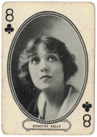 Dorothy Kelly - 1916 MJ Moriary Playing Card